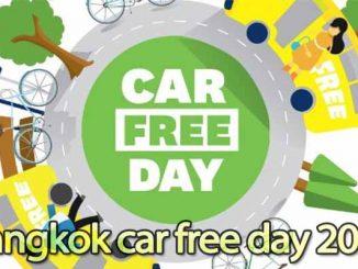 งาน Bangkok car free day
